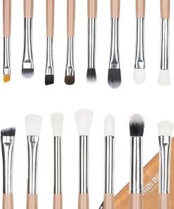 Set 15 pensule machiaj Precise Makeup, Nude + Borseta Cadou