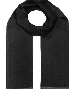 Fular negru bărbați Bolf YW08015