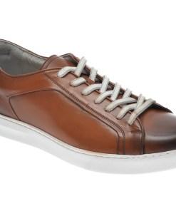 Pantofi OTTER maro, 3384, din piele naturala