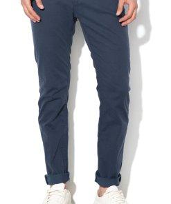 Pantaloni chino cu aspect texturat 2200611