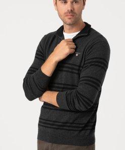 Pulover din amestec de lana - cu model in dungi 3177489