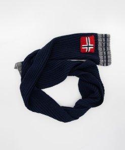 Fular din amestec de lana cu logo Foreil 3280306