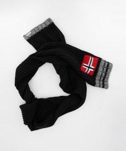 Fular din amestec de lana cu logo Foreil 3280277