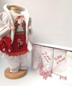 Set Traditional Botez Fetita - Costumas + Trusou