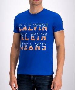 Tricou Calvin Klein Jeans J30J312570 Negru