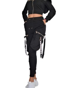 Compleu sport Helen pantaloni si hanorac (Selecteaza Marime: M)