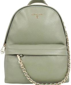 Michael Kors Slater Medium Backpack In Green Green