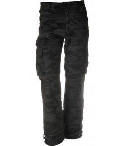 Loshan Roberto pantaloni izolați bărbați model night camo