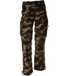 Loshan Igancio pantaloni izolați bărbați model woodland
