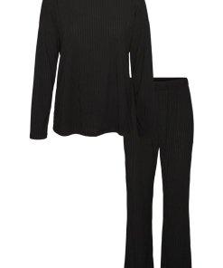 Pijama cu pantaloni lungi si striatii 3398257