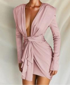 Rochie mini potrivita pentru orice petrecere Chic Divine Pink (Selecteaza Marime: M)