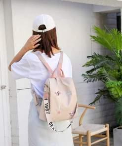 Rucsac nude anti-furt material textil Sakura