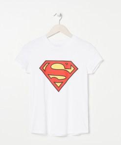 Sinsay - Tricou Superman - Alb