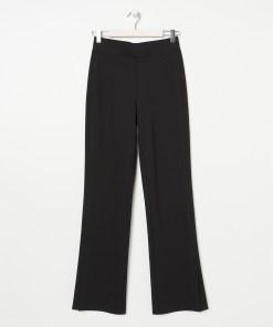 Sinsay - Pantaloni evazați - Negru