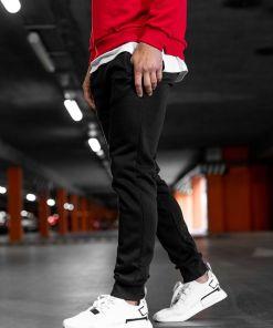 Pantaloni de trening negri Bolf XW01-B