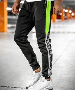 Pantaloni de trening negri Bolf K20013