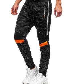 Pantaloni de trening negri Bolf K60007