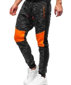 Pantaloni de trening negri Bolf K60005