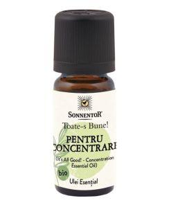 Ulei Bio Esential Toate-s Bune! - Pentru Concentrare, 10ml, Sonnentor