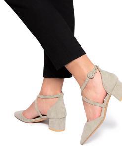 Pantofi dama Chantelle Verde deschis