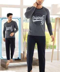 Pijama gri Original pentru barbat - cod 41110