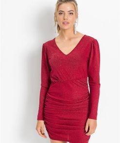 Rochie sclipitoare - roșu