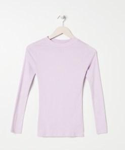 Sinsay - Tricou ECO AWARE cu mânecă lungă - Violet