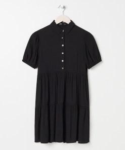 Sinsay - Rochie-cămașă - Negru