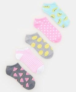 Sinsay - Set de 5 perechi de șosete - Multicolor
