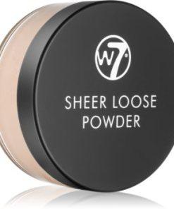 W7 Cosmetics Sheer Loose pudra pulbere matifianta WCOSLOW_KPWD03