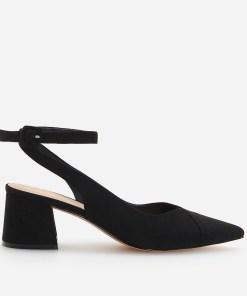 Reserved - Pantofi cu călcâi descoperit - Negru