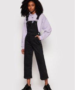 Pepe Jeans Salopetă ARCHIVE Shay PL230335 Negru Regular Fit