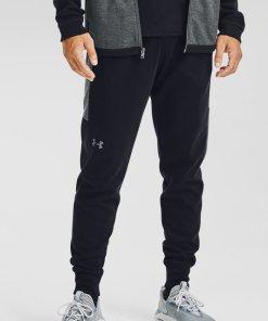 Pantaloni sport elastici cu croiala conica - pentru antrenament Double Knit 3229053