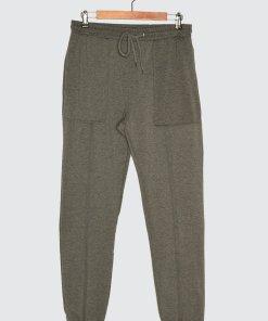 Pantaloni sport de jerseu cu talie ajustabila 3410224