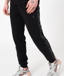 Pantaloni sport cu garnituri logo 3461546