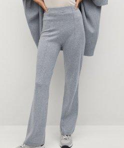 Pantaloni tricotati evazati Bomin 3456817