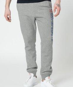 Pantaloni sport cu imprimeu logo M-Ice 3475340