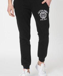 Pantaloni sport cu snur si logo 3444948