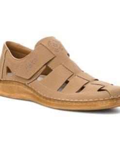 Sandale Rieker 05288-64 Piele naturală - Nubuc