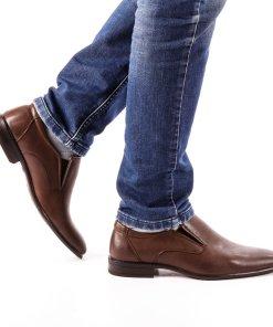 Pantofi barbati Vincent maro