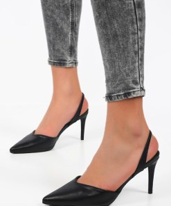 Pantofi stiletto Valona Negri