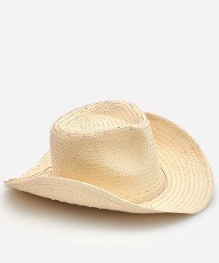 Reserved - Pălărie de paie - Bej