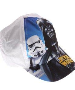 Sapca baieti Star Wars Darth Vader Storm Trooper alba