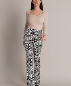 Pantaloni dama Emera Albi