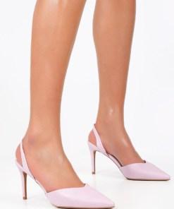 Pantofi stiletto Valona Mov