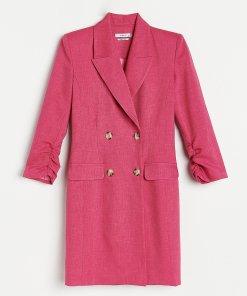 Reserved - Rochie tip blazer - Roz
