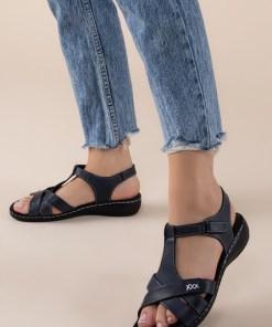 Sandale piele naturala Sonya Navy
