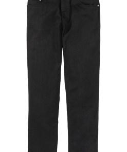 Pantaloni Classic Fit cu stretch, drepţi - negru