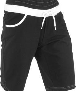 Pantaloni sport scurţi, nivel 1 - negru