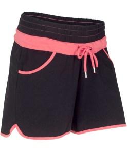 Pantaloni sport scurţi - negru